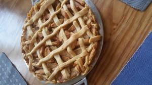 Kuchenmanie_Apfelkuchen mit Gitter