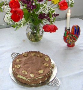 Schokoladen-Bananen Sahne_kuchenmanie